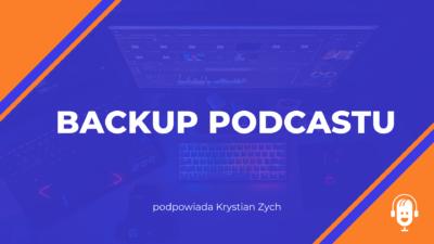 Backup podcastu
